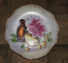 OLD! DECORATIVE! ARTIST PAINTED! CHINA PLATE!! SIGNED!!