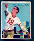 1935 National Chicle Football Cards 5