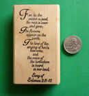 Song of Solomon 211 12 Religious Rubber Stamp