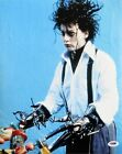 Johnny Depp Signed Edward Scissorhands Authentic 11x14 Photo PSA DNA #J03953