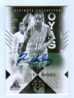 TIM HARDAWAY 10-11 ULTIMATE COLLECTION AUTO # 99