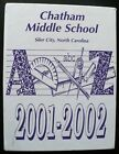 2002 Chatham Middle School Yearbook, Siler, NC