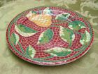 Mosaic Fruit by Pier 1 SALAD PLATE vintage pretty