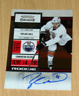 2011 Playoff Contenders autograph rookie Taylor Hall