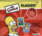 Simpsons Series 2 Filmcardz Trading Cards 3 Boxes