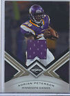 Adrian Peterson 10 Panini Limited Jersey Card 199