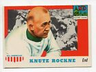 1955 Topps All American Card #16-Knute Rockne-Notre Dame