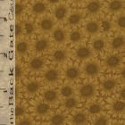 FQ  MODA Kansas Troubles Favorites 9142 15 GOLD sunflower daisies fabric
