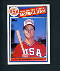 1985 Topps # 401 ROOKIE Mark McGwire NR MT cond Team USA A's Cardinals