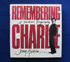 REMEMBERING CHARLIE SIGNED by JERRY EPSTEIN EXCELLENT CHAPLIN BIOGRAPHY