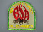 FALL 1978 TWO RIVERS DISTRICT CAMPOREE Scout Patch