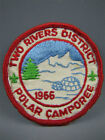 Two Rivers District 1966 POLAR CAMPOREE Scout Badge