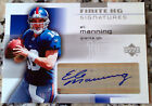 ELI MANNING 2004 UD Finite HG Signatures Auto Rookie Card RC HOT New York Giants