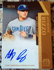 ANTHONY RIZZO 2011 Topps Tier One 1 GOLD AUTO Rookie Card RC 3 25 Chicago Cubs