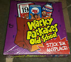 (1) 2010 Topps Wacky Packages Old School 1st Series 1 Sealed Box With Sketch