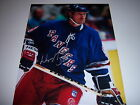 WAYNE GRETZKY NEW YORK RANGERS,HOF W COA SIGNED 11X14 PHOTO