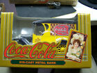 Coca Cola ERTL Die Cast Metal Bank MIB 1993 Yellow