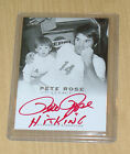 2011 LEAF Legacy Pete Rose RED autograph A-5 HIT KING 3 10 REDS