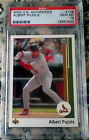 ALBERT PUJOLS 2002 Upper Deck Authentics 1989 PSA 10 GEM Cards Angels 2 WS Rings
