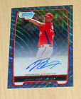 2012 Bowman Baseball Blue Wave Refractor Autographs Are Red-Hot 43