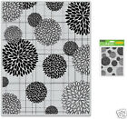 HERO ARTS CLINGS RUBBER Stamp FLOWER BURSTS PATTERN CG315 MARIGOLDS