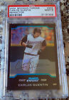 CARLOS QUENTIN 2004 Bowman Chrome REFRACTOR Rookie Card RC PSA 9 MINT Padres HOT