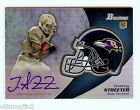 2012 Bowman Football Chrome Refractor Rookie Autographs Guide 52