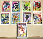 MARVEL UNIVERSE 1990 EDITION SERIES I COMPLETE HAND MADE BASE