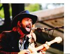 BAND OF HORSES BEN BRIDWELL SIGNED IN CONCERT 8X10