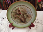 Imperial China Collector's Plate, Birds, Artist signed Jacqueline,Germany, Rare