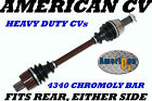 2011-12 POLARIS SPORTSMAN FOREST 850 4X4 REAR EXTREME OFF ROAD ATV CV JOINT AXLE