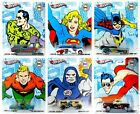 2012 Hot Wheels Nostalgia DC Comics Wave 2 Set of 6 164 Scale Diecast Vehicles