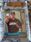 RYAN VOGELSONG 2000 Bowman Chrome Rookie Card RC BGS 10 PRISTINE Giants Champs