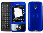Blue Snap On Hard Plastic Phone Protector Case Cover For Sprint HTC Touch Pro