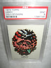 PSA 9 vintage Topps Ugly Stickers LEROY monster trading card 1973 Mint 1970's !!