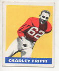 1948 Leaf Football Card #29 Charley Trippi-Chicago Cardinals-Yellow Background