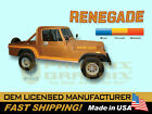 1985 1986 Jeep Scrambler Renegade CJ8 Decals  Stripes Kit