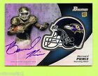 2012 Bowman Football Chrome Refractor Rookie Autographs Guide 54