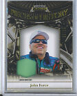 John Force 2012 Press Pass Legends Pieces Of History Race Used Shirt 99