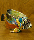 Jeweled Kubla Crafts Trinket Box #KC3782 FISH, NEW from Retail our Store, MIB