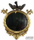 SWC-Classical Parcel Ebonized Giltwood Mirror, 19th century