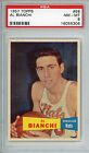 1957 58 Topps #59 Al Bianchi Rookie PSA 8 NM-MT Syracuse Nationals