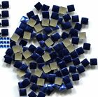 SQUARES Rhinestuds 3mm ROYAL BLUE Hot Fix Iron on 1 gross