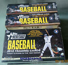 2012 Topps Heritage Baseball, Factory-Sealed Hobby Box - 1963 Topps card design!
