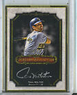 Paul Molitor 2012 Topps Museum Collection Personal Masterpiece Auto Autograph 15