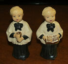 2 VINTAGE Choir Boys Figurines 1951
