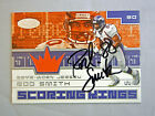 2001 Fleer Hot Prospects ROD SMITH Autograph GU Jersey Scoring Kings Broncos