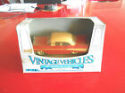 ERTL vintage vehicles 1957 chevrolet Bay Air Sport Coupe red and yellow mib