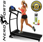 Folding Treadmill Motorised Running Machine Electric Power Fitness Exercise New