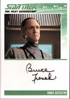 Star Trek Complete TNG Series 2 Autograph Card Bruce French Black Auto Varient